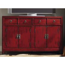 """See Details - Red 58.25"""" Entertainment Console"""