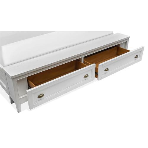 Magnussen Home - Complete King Lamp Panel Storage Bed