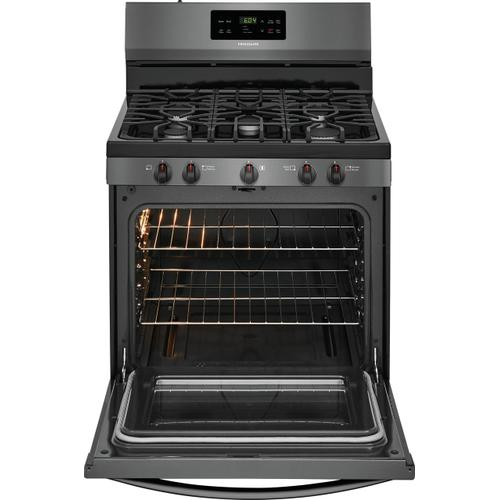 Frigidaire 30'' Gas Range (This is a Stock Photo of a New Out of Box Appliance, actual unit (s) appearance may contain cosmetic blemishes.  Please call store if you would like actual pictures).  This unit carries our 6 month warranty, MANUFACTURER WARRANTY and REBATE NOT VALID with this item. ISI 43969BB