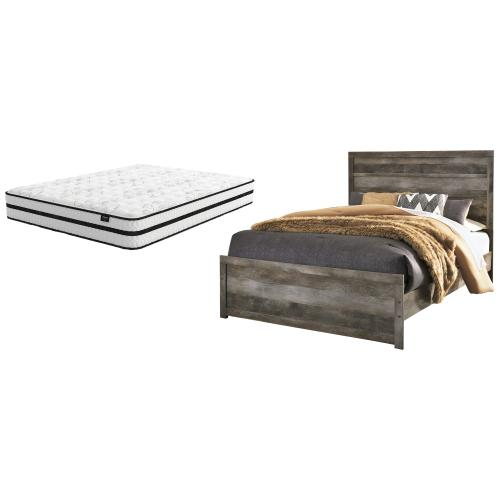 Ashley - Queen Panel Bed With Mattress