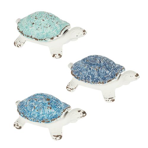 Blue Ombre Turtle Key Hider (3 pc. ppk.)