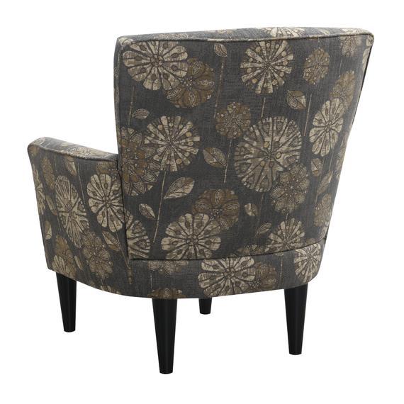 Flower Power Accent Chair, Cascade Pewter U3535-05-09