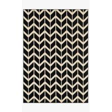 View Product - GW-03 Black / Ivory Rug