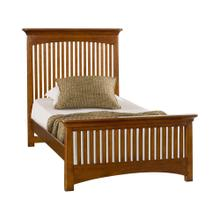 3/3 Twin Slat Bed
