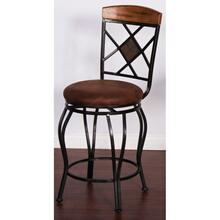 Metal Swivel Barstool