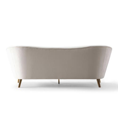 Tov Furniture - Chloe Cream Velvet Sofa