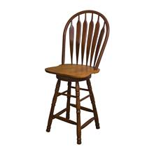 "DLU-B30-NLO  30"" Swivel Barstool  Nutmeg Light Oak"