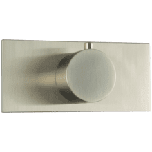 Thermostatic Valve Trim Kit, RND + Letterbox Matte Brushed Nickel
