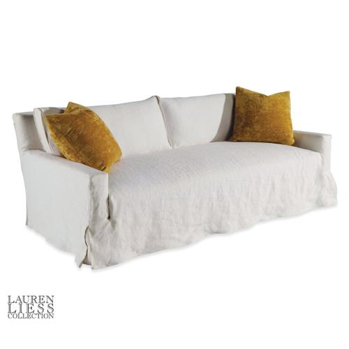 Taylor King - Courtier Slipcovered Mini Sofa