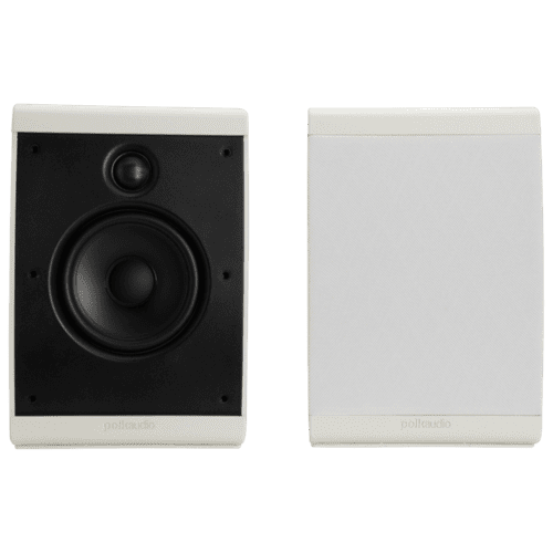 Compact multi-application speaker. in White