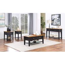 See Details - Quinton Narrow End Table W/ Usb Outlet