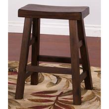"Red Hot Buy! Savannah Saddle Seat Stool 24""h"