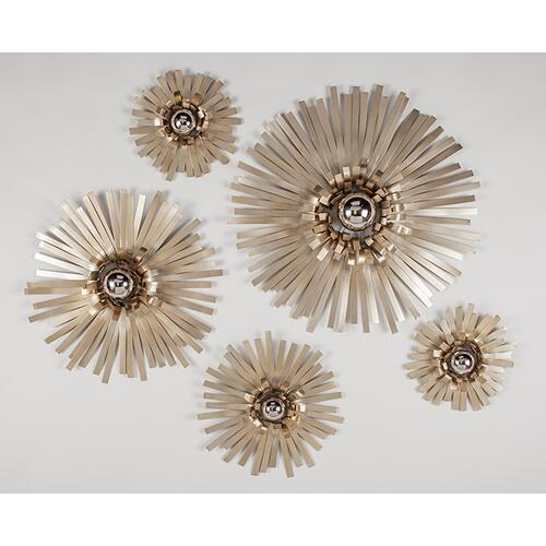 "Wall Décor - Set of 5 Dia.29.5"", Dia.24"", Dia.18"" & Dia.13""x2pcs"