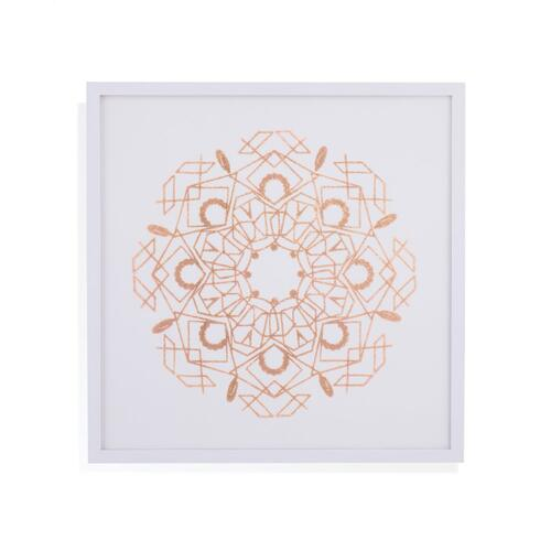 Rose Foil Mandala IV