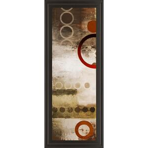 """Red Liberated Panel II"" By Micheal Marcon Print Framed Wall Art"