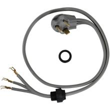 3-Wire Open-End-Connector 30-Amp Dryer Cord with Quick Connect, 4ft