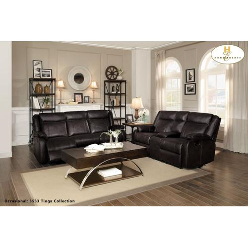 Jude Motion Sofa and Love Seat