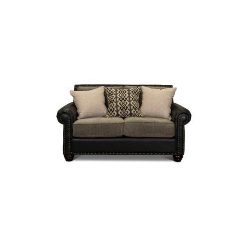 Intermountain Furniture - Breckenridge Two Tone Loveseat