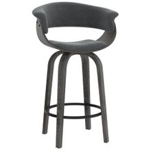 Holt 26'' Counter Stool in Grey Velvet