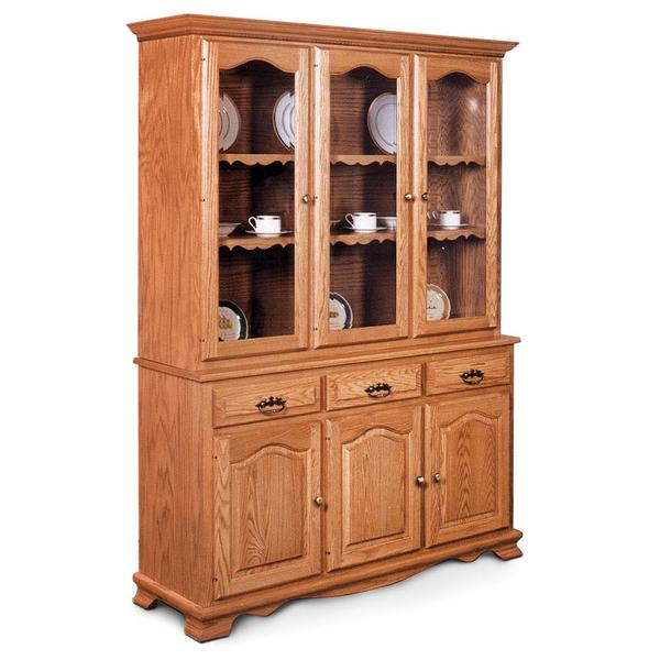 """See Details - Classic Closed Hutch, 63 """", 19"""" Base"""