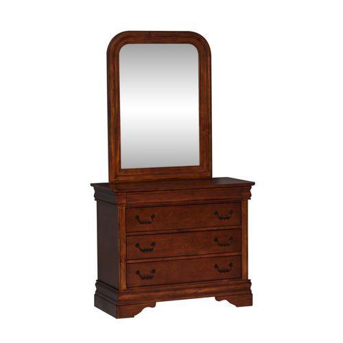 Liberty Furniture Industries - Full Sleigh Bed, Dresser & Mirror