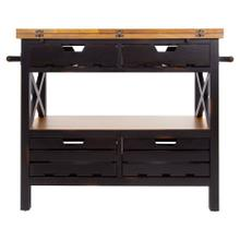 Cassidy Kitchen Island / Black
