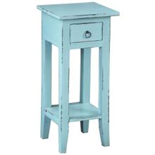 See Details - Cottage Side Table - Beach Blue