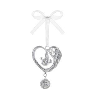 In Loving Memory Ornaments (6 pc. ppk.)