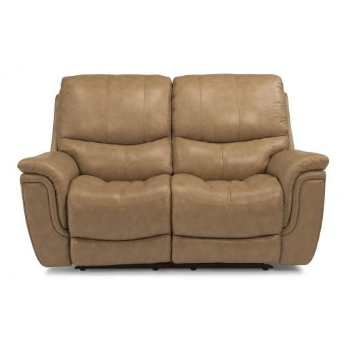 Product Image - Coco Leather Power Reclining Loveseat