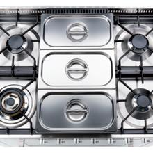 View Product - Bain-Marie (3 Stainless Steel Basins)
