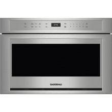 400 Series Drawer Microwave 24'' Stainless Steel
