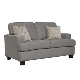Emerald Home Carter Loveseat Grey