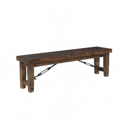 Gallery - Rustic Lodge Bench