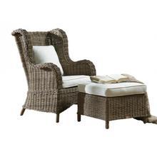Exuma Occasional Chair w/beige cushion