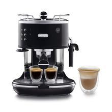 See Details - Icona Manual Espresso Machine - Black ECO310BK