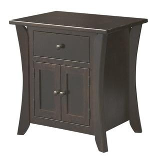 Chandler 1 Drawer 2 Door Nightstand