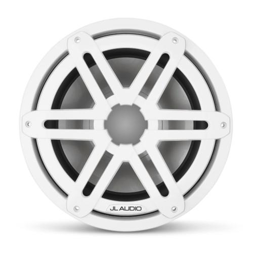 JL Audio - 10-inch (250 mm) Marine Subwoofer Driver, Gloss White Sport Grille, 4