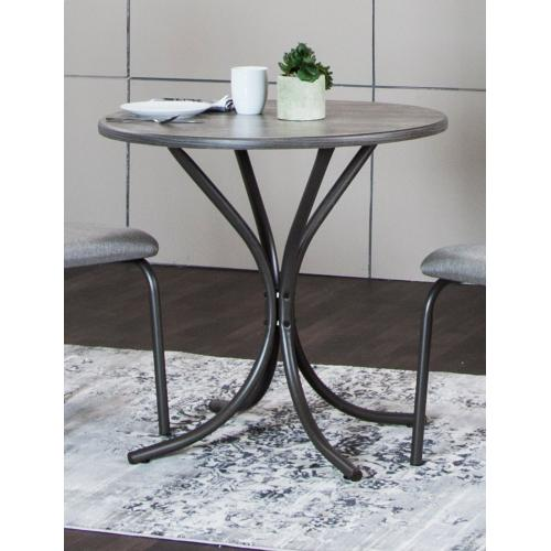 Steel Gray Dining Table