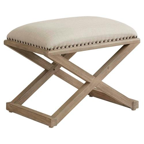 Abbott Tan Artisanal Bench