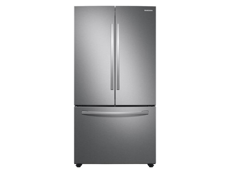 Samsung28 Cu. Ft. Large Capacity 3-Door French Door Refrigerator In Stainless Steel