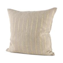 See Details - Danika 18 x 18 Beige Fabric Decorative Pillow Cover