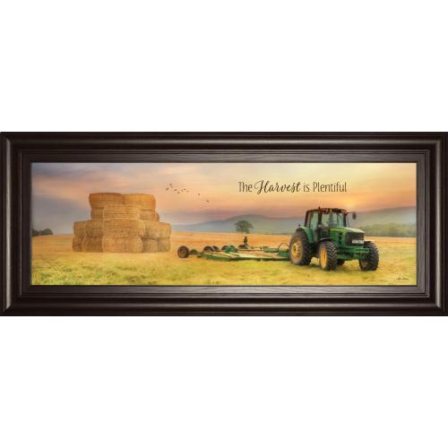 """The Harvest Is Plentiful"" By Lori Deiter Framed Print Wall Art"
