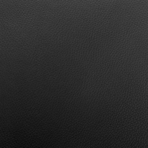 Armen Living - Asher Adjustable Black Faux Leather and Chrome Finish Bar Stool