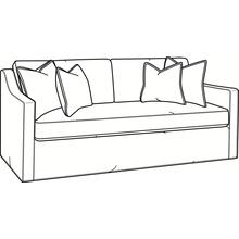 View Product - Oliver Bench Seat Sofa with Slipcover