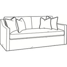 Oliver Bench Seat Sofa with Slipcover