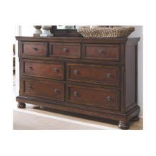 Porter Dresser Rustic Brown