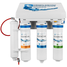 Advanced 4-Stage Under Counter Reverse Osmosis System with Added UV Protection from Bacteria & Viruses.