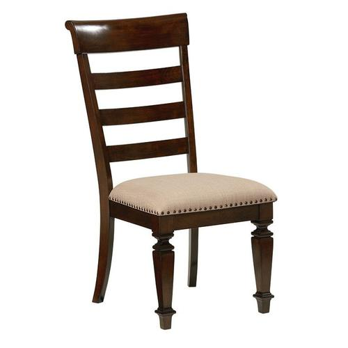 Standard Furniture - Charleston 2-Pack Upholstered Side Chairs, Brown