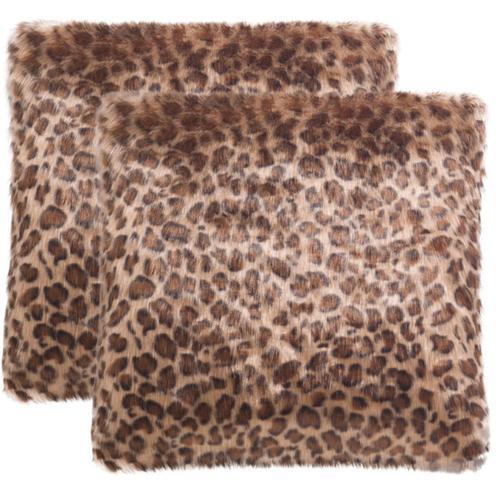 Leopard Print Pillow - Leopard