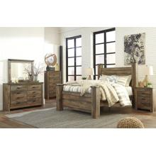 View Product - Queen Poster Bed With Dresser and Chest
